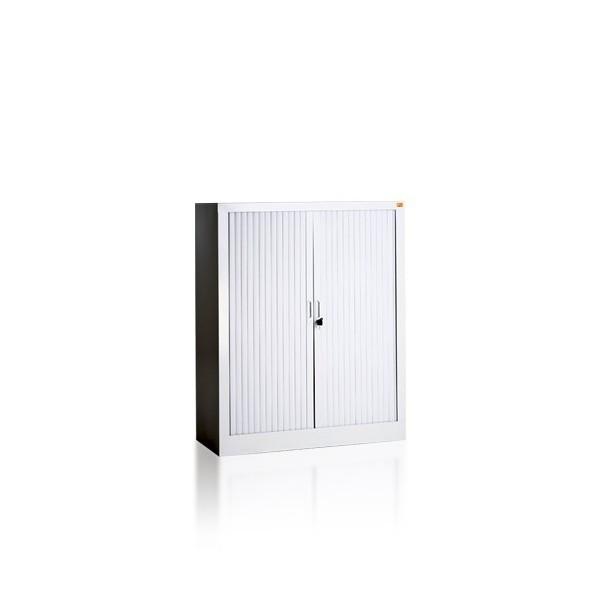 bz-2-metalinė-dokumentų-spinta-žaliuzinės-durys