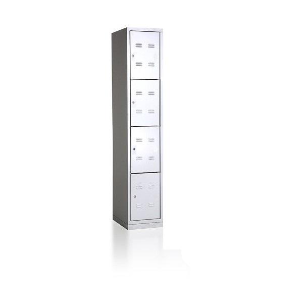 bhp-300-1-4-metalinė-asmeninių-daiktų-saugykla-4 lygiu- 4 durelių-classic