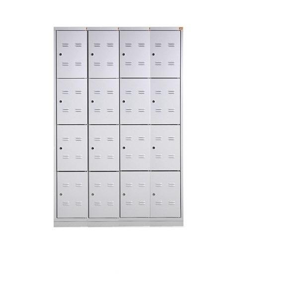 bhp1200-4-16-2-metalinė-asmeninių-daiktų-spintelė-4 lygių-16-durelių-classic