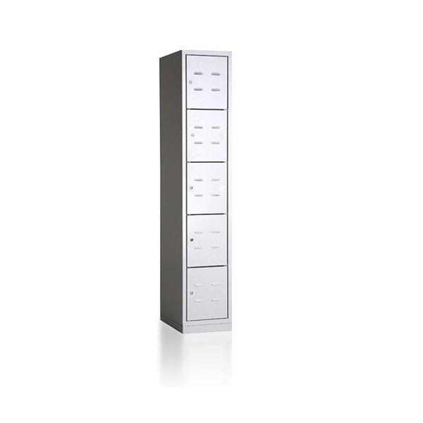 bhp300-1-5-metalinė-asmeninių-daiktų-saugykla-5 lygių-5 durelių- classic