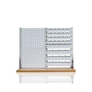 Perforuota sienelė su laikikliais plastikinėms dežutėms  (W-2N-6)
