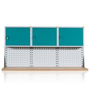 Perforuota sienelė su laikikliais plastikinėms dežutėms  (W-3N-5)