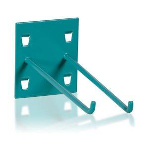 Metalinis dvigubas įrankių kabliukas  (W-LH)